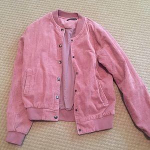 Brandy Melville Pink Jacket